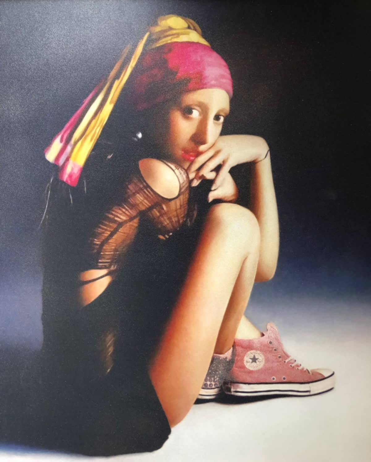 The Girl in the Pink Converse by Mason Storm, estimated at £4,500