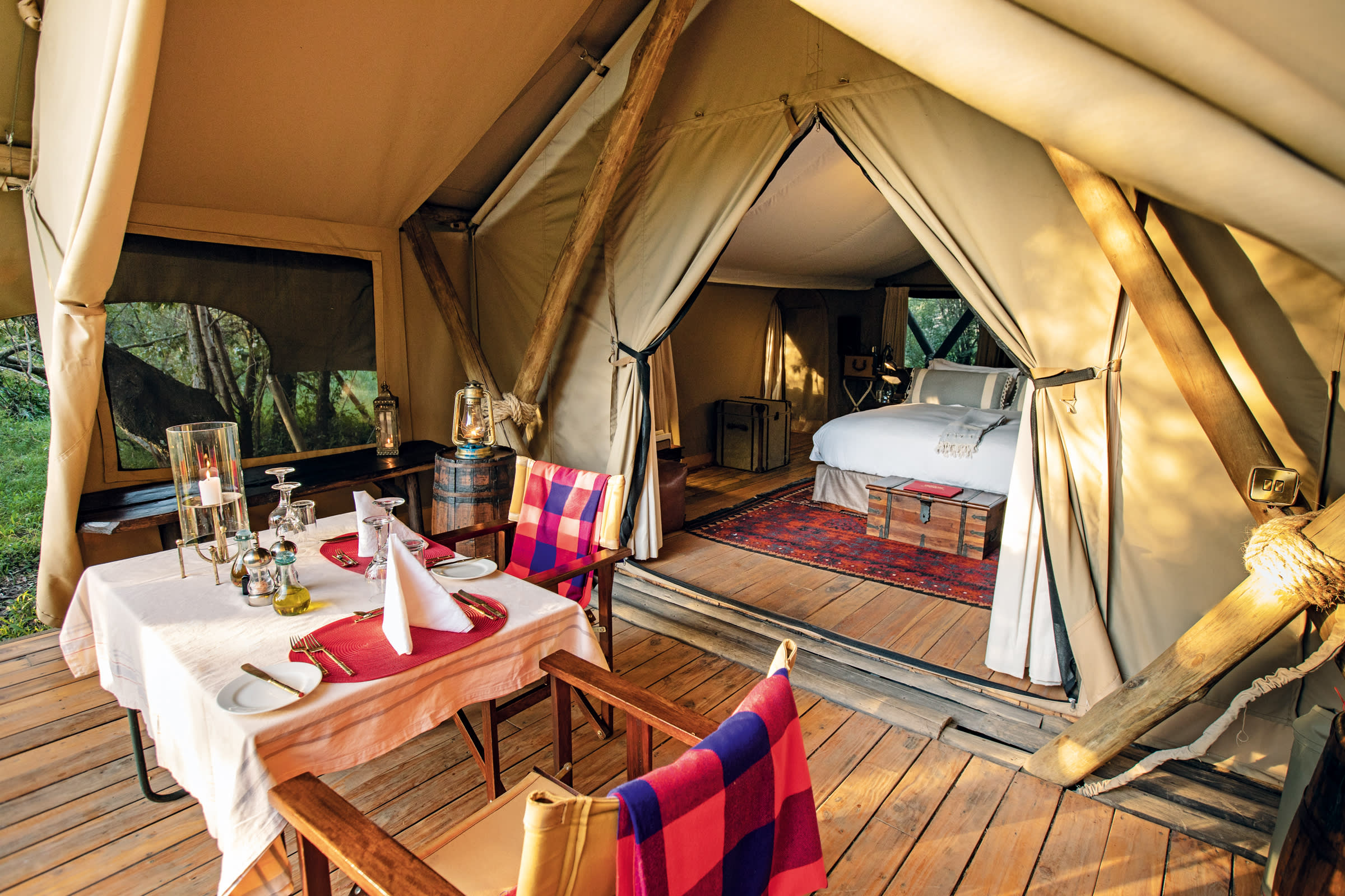 Great Plains Conservation's Mara Expedition Camp in Kenya